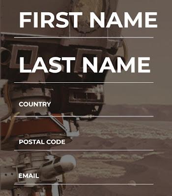 سجل إسمك ليتم إرساله إلى المريخ في رحلة ناسا 2020