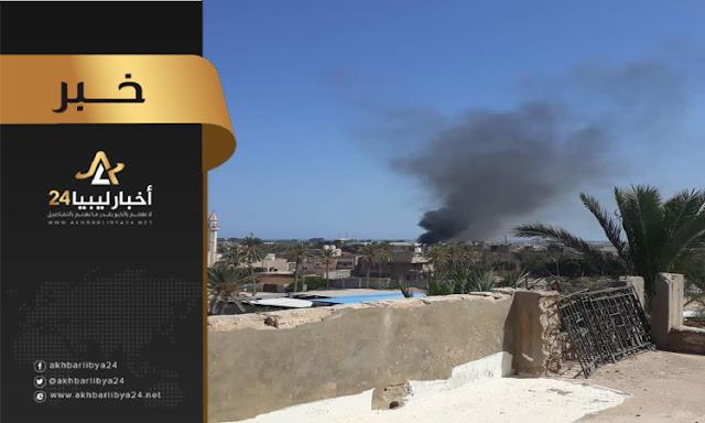 عاجل : مصادر عسكرية تؤكد استهداف مواقع للطيران التركي داخل معيتيقة،،،،اليكم التفاصيل