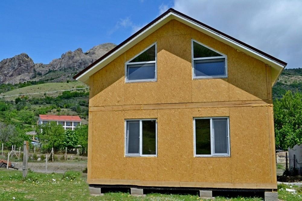 Построить дом из сип панелей в Крыму
