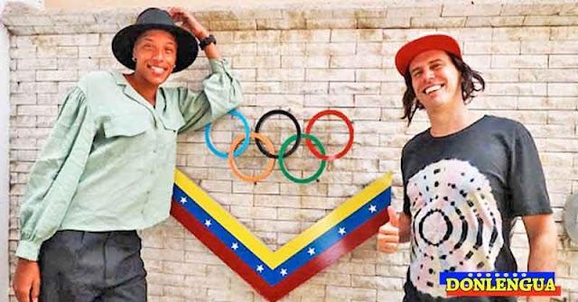 Yulimar Rojas ni Daniel Dhers quisieron traer sus medallas olímpicas a Venezuela