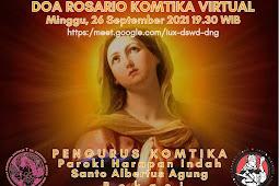 Doa Rosario Komtika Virtual 26 Sept 2021