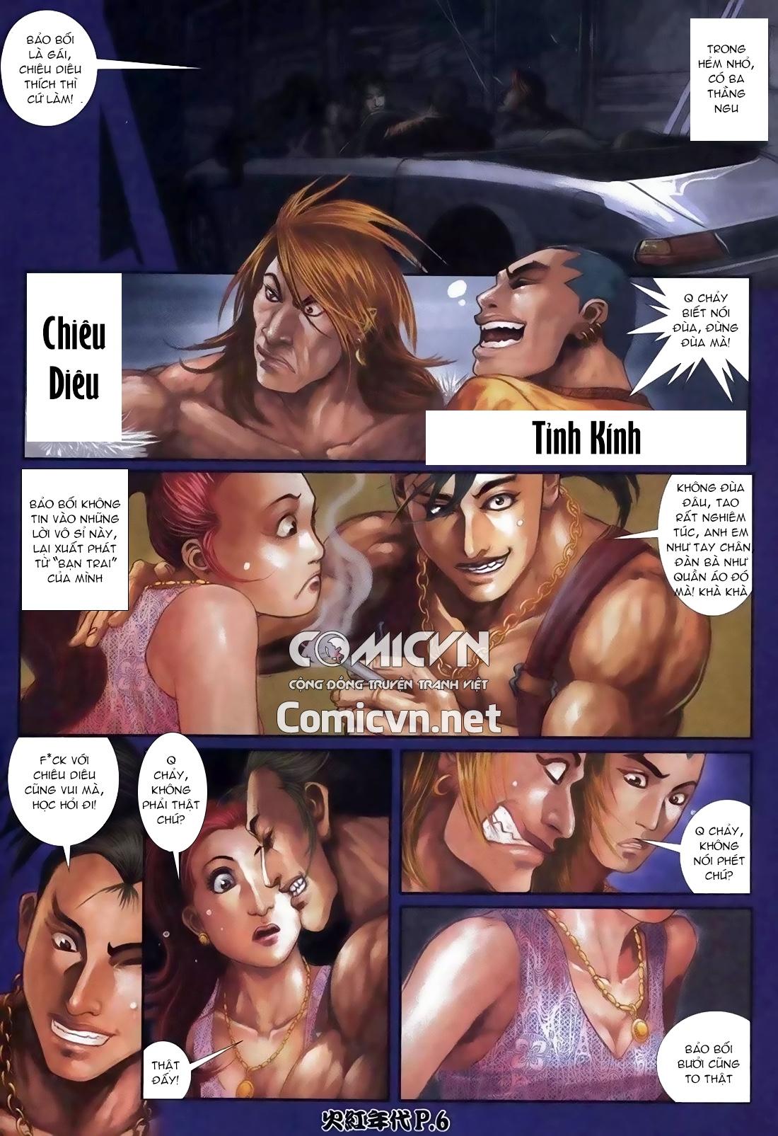 Hỏa Hồng Niên Đại Hắc Cốt Đường Chap 113 - Trang 2