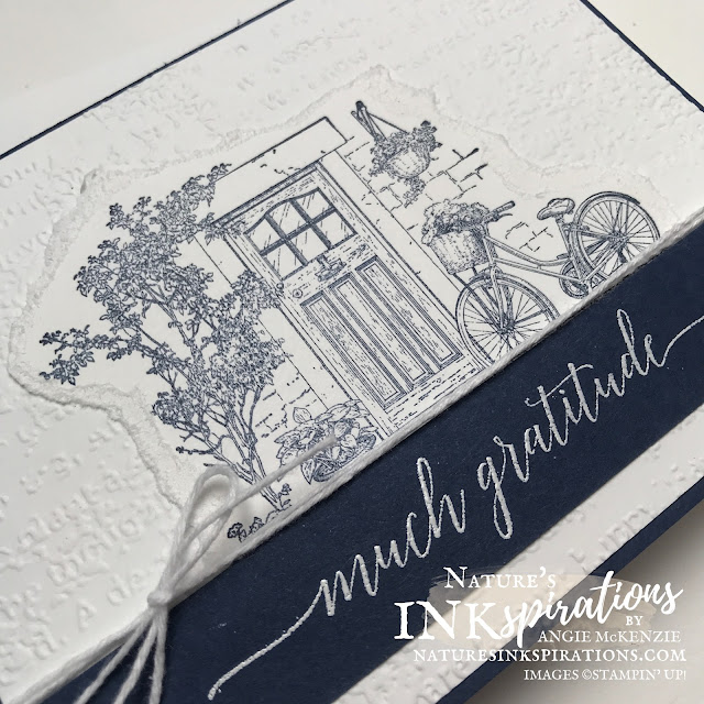By Angie McKenzie for Bruno and Kylie Bertucci's Demonstrator Training Program Blog Hop; Click READ or VISIT to go to my blog for details! Featuring the Feels Like Home and Heartfelt Wishes Stamp Sets with the Timeworn Type 3D Embossing Folder; #stampinup #handmadecards #naturesinkspirations #thankyoucards #simplestamping #embossing #cardtechniques #stampinupdemo #feelslikehome #heartfeltwishes #timeworntype #stationerybyangie #brunoandkyliesdemonstratortrainingprogrambloghop #stampingtechniques #makingotherssmileonecreationatatime