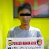 Polisi Tangkap Pencuri Emas Putih Milik Warga Emperom Banda Aceh