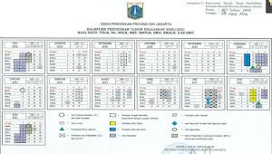 Kalender Pendidikan Tahun Pelajaran 2020/2021 DKI Jakarta