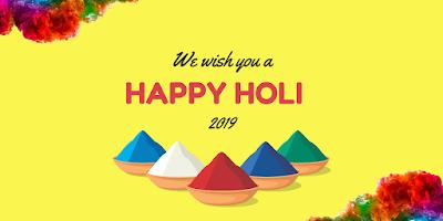Happy Holi 2019  HD WhatsApp Status and Wishing Images