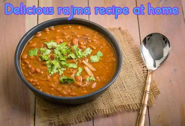 How to make delicious rajma at home   Rajma recipe
