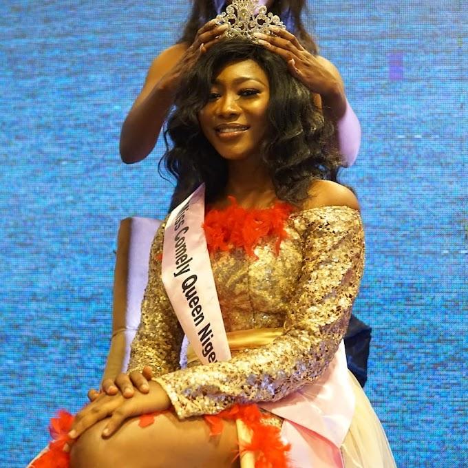 Queen Joy James Enemuo emerges Miss Comely Queen Nigeria 2019