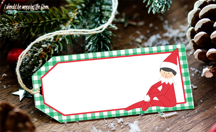 Free Printable Elf Gift Tags