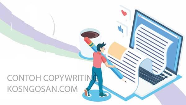 copywriting produk makanan