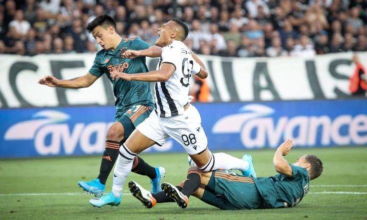 ΠΑΟΚ-Άγιαξ 2-2 (Γ προκριματικός Champions League
