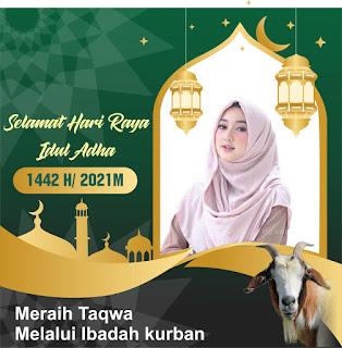 Twibbon Idul Adha1442/2021 H