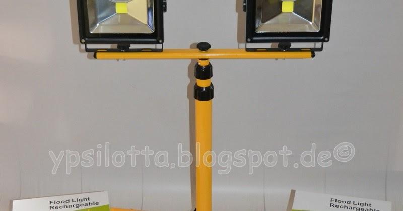 Yvonne sandra vingo led baustrahler mit teleskopstativ