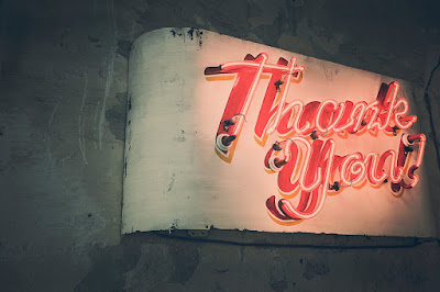 When did you last tell your singers how grateful you are?