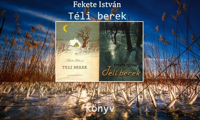 Fekete István Téli berek könyv