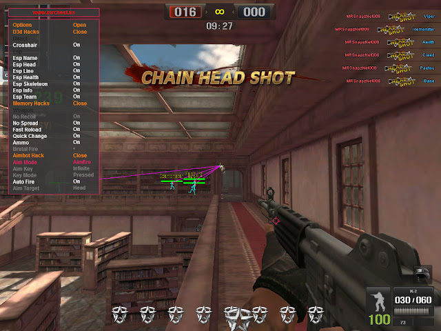 Cheat Hack Free Point Blank Philippines 24 - 25 April 2018