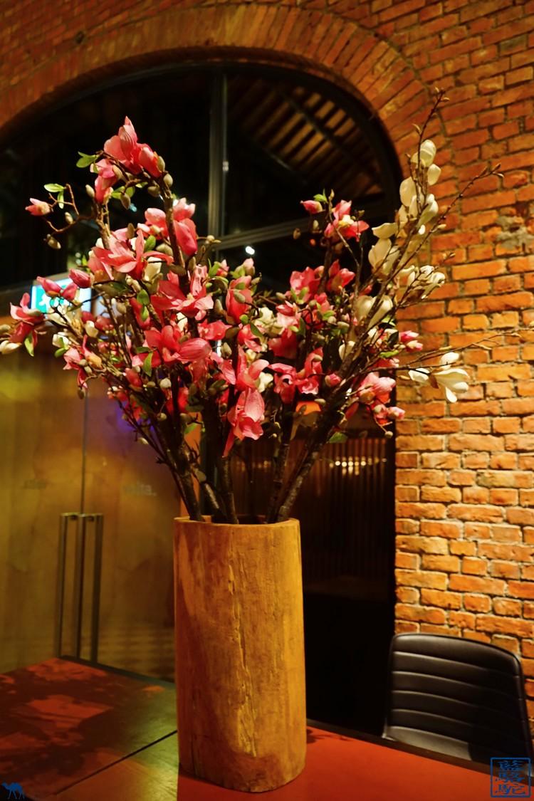 Le Chameau Bleu - Fleur du restaurant Volta - Ghent - Belgique