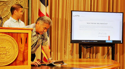 courtesy office of Hawaii Governor