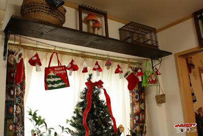 手作りクリスマスガーランド