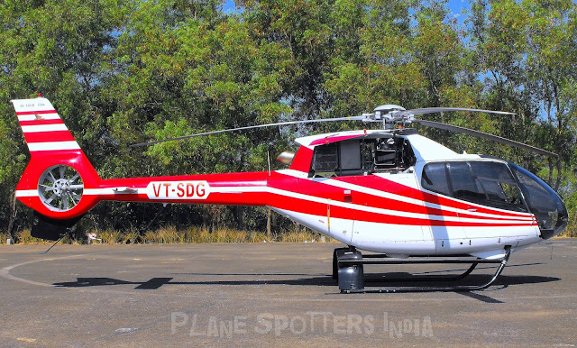 Helicopter Spotting  Goa  Plane Spotters India