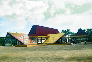 tampilan gedung taman budaya yang baru
