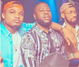 Throwback photo of Hushpuppi and Phyno together in Dubai