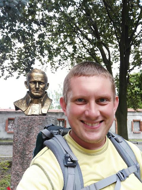 Pomniki Jana Pawła II - Czerwińsk nad Wisłą.