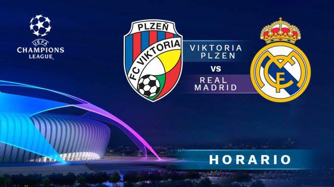 Viktoria Plzen vs. Real Madrid: Horario y dónde ver en vivo