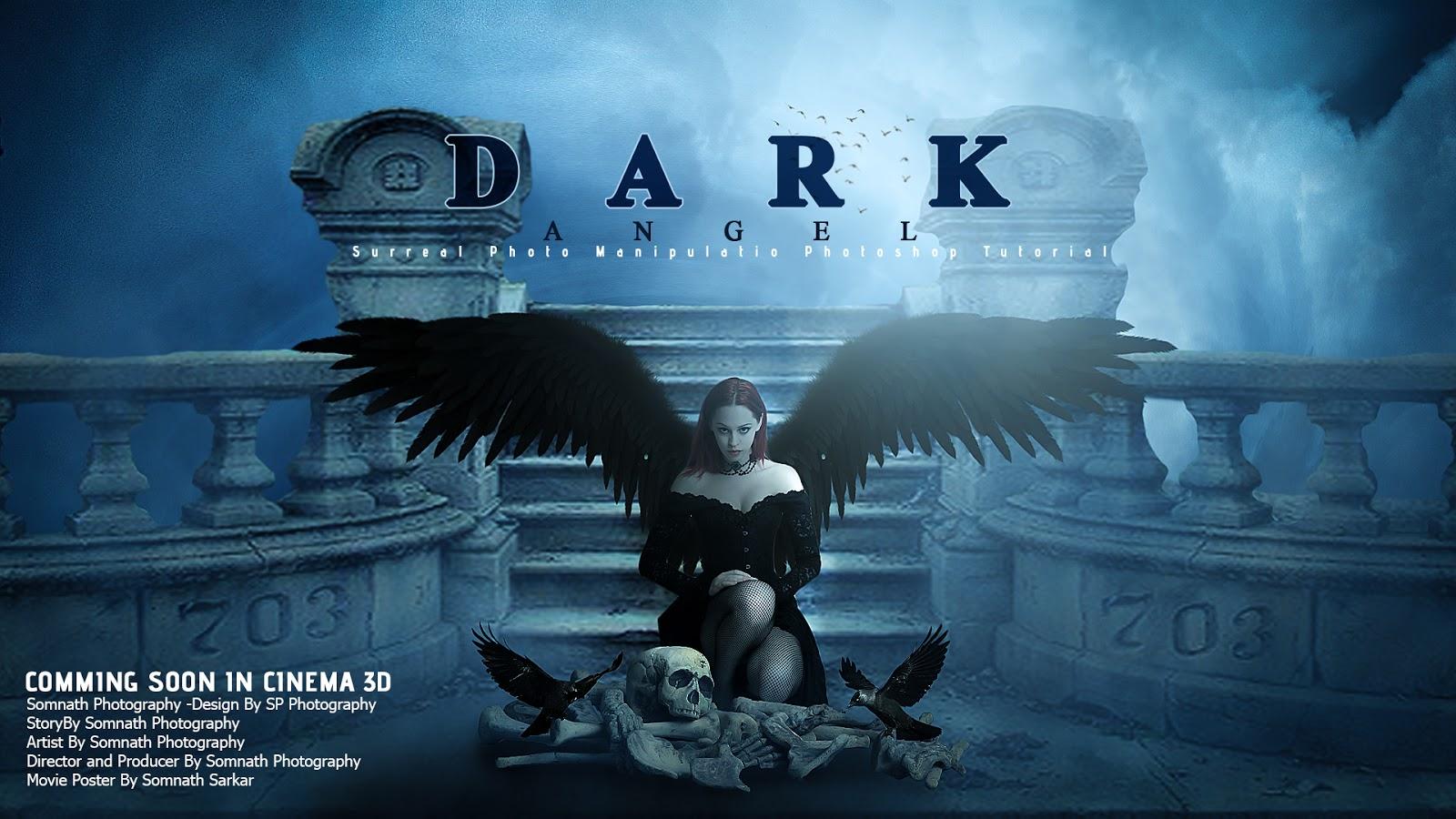 Adobe Photoshop Tutorials : Make Movie Poster Design