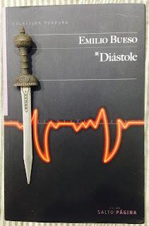 Portada del libro Diástole, de Emilio Bueso