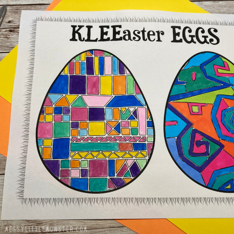 Free Easter egg template printables