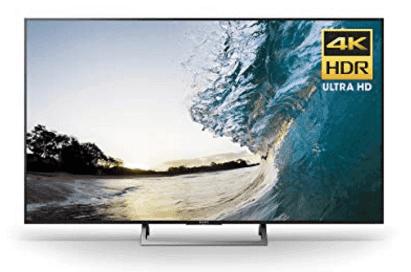 """Sony 65"""" category 4K smart LED TV (XBR65X930E)"""