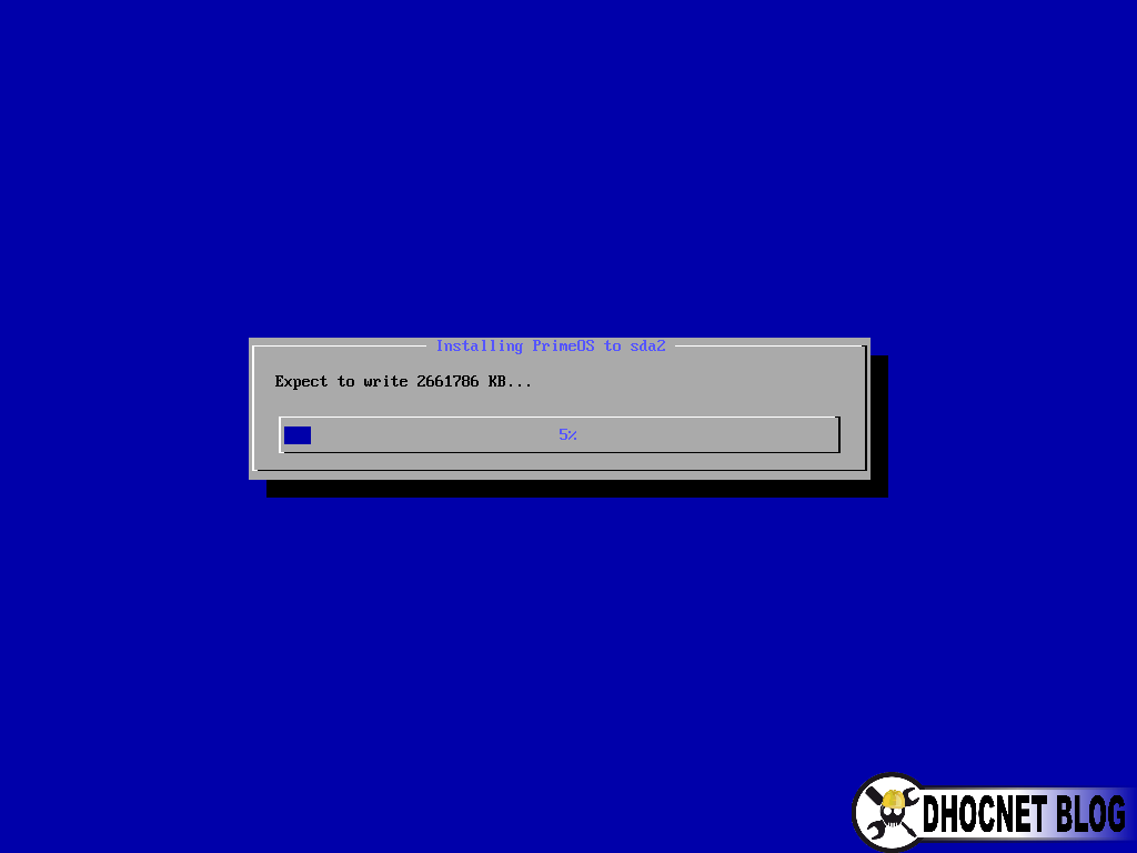 Cara Install Android Prime OS ke Komputer - DHOCNET Blog
