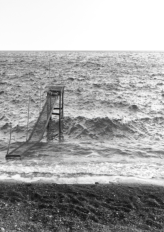 Dystopian seascapes. Photography © Eleni Psyllaki My Paradissi