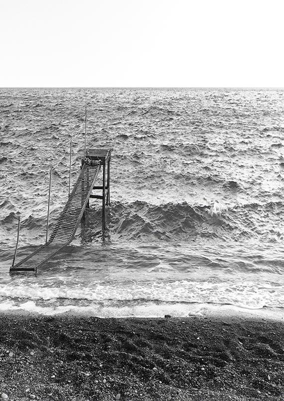 Dystopian seascapes. Photography © Eleni Psyllaki My Paradissi