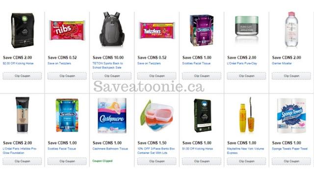 Clip Amazon coupons