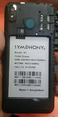 Symphony i67 FRP Reset File