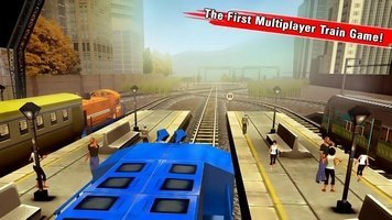 Game Train Racing Games 3D