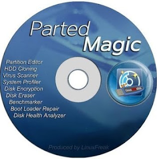 Parted Magic 2017.09.05 (Inglés) (Paricionador Mágico para Discos Duros)
