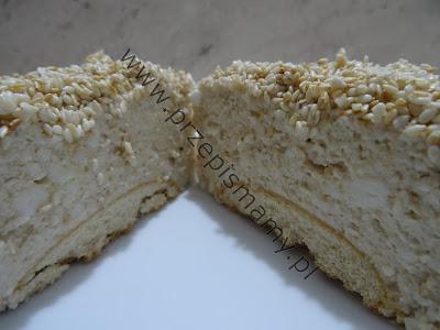 "Ciasto bez pieczenia ""Sezamek"""