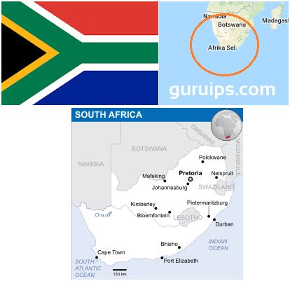 Profil Negara Afrika Selatan - Bahasan tentang Afrika Selatan