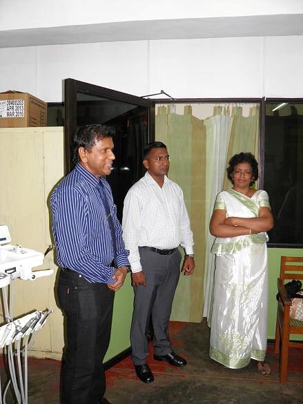 Air conditioning Doctors Room at Thalangama Div Hospital - RC Battaramulla