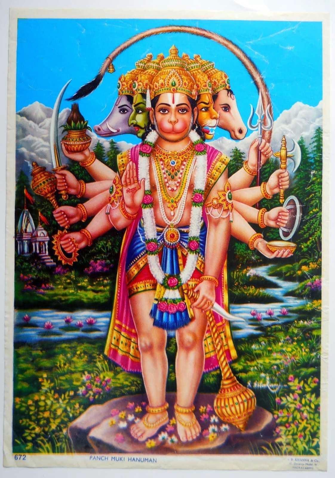 Significance Of Panchamukhi Hanuman Hindu Blog