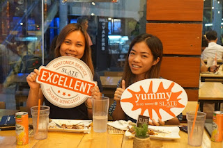 Satisfied customers at Slate District Cebu