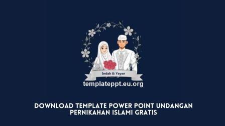Download Template Power Point Undangan Pernikahan Islami Gratis