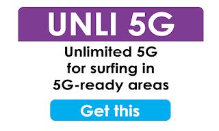 Globe Go5G - Go5G99 and Go5G199 Go Unli 5G Promos