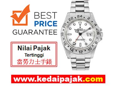 Pajak Rolex Explorer II Dengan RM19,000 - kedaipajak.com