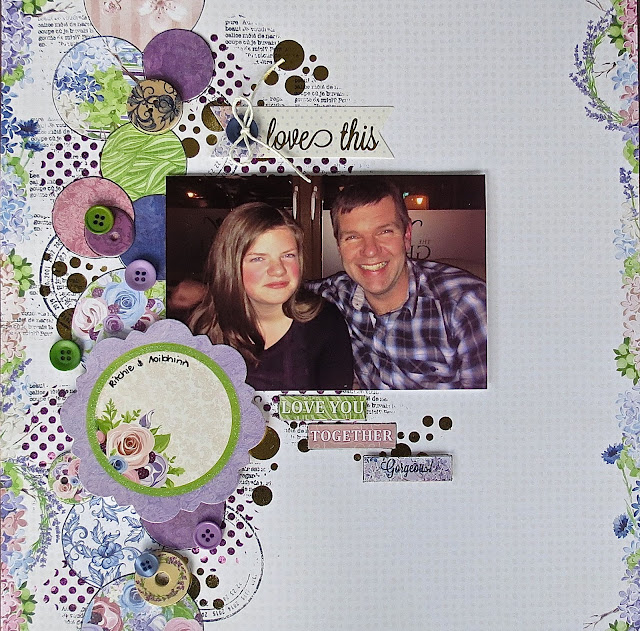1 layout 3 ways by Megan Gourlay for BoBunny using Secret Garden