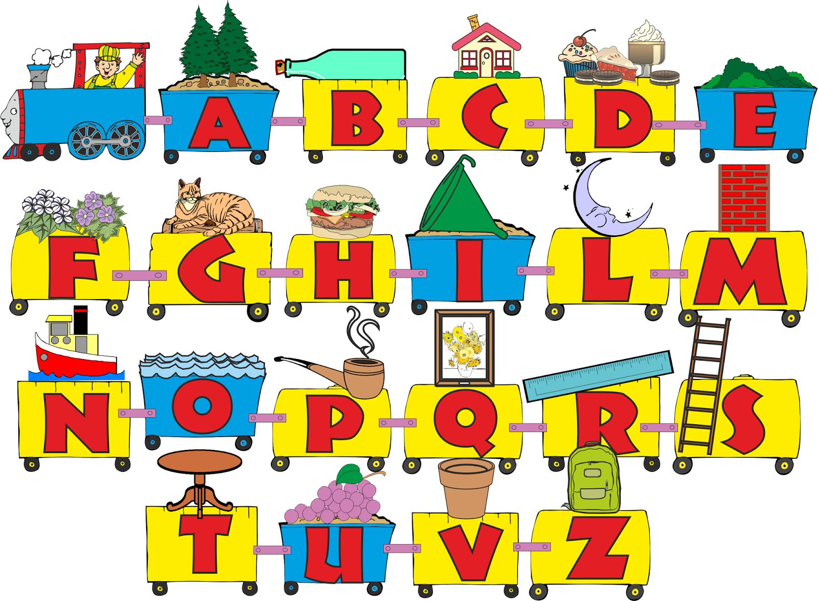 A scuola con poldo cartellone dell 39 alfabeto for Cartelloni scuola infanzia