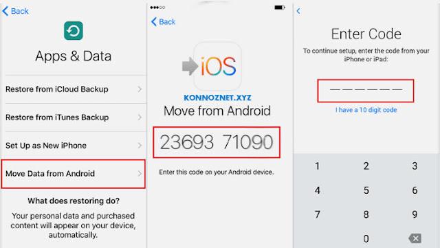 كيفية نقل الملفات من Android إلى iPhone أو iPad
